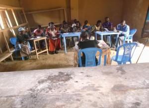 Incontro di formazione sulla nutrizione a Bagata