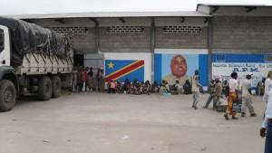 Parking de gros à Kinshasa
