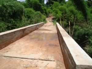 Réhabilitation du pont Udimba sur l'axe Popokabaka - Kasongo Lunda