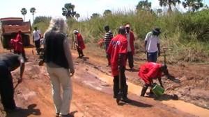 Une séance de formation pratique réalisée par ISCO au Bandundu