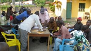 Elaboration participative d'un plan CARG (Comités Agricoles Ruraux de Gestion) à Inongo (Mai-Ndombe)
