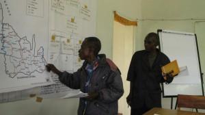 Elaboration participative d'un plan CARG (Comités Agricoles Ruraux de Gestion) à Popokabaka (Kwango)
